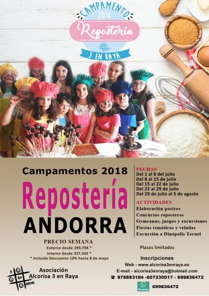 CAMPAMENTO Repostería 2018 WEB