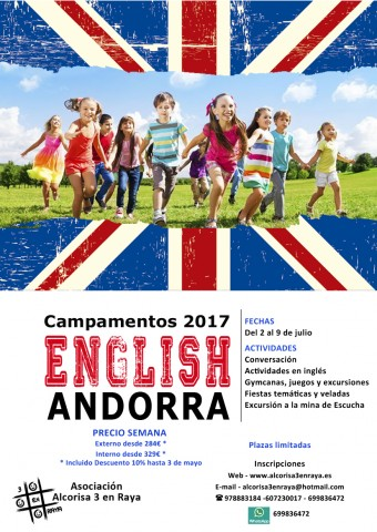 CARTEL Inglés 2017
